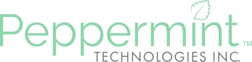 2 PepermintTech logo trademark -  3 2 PepermintTech logo trademark Myntix Myntix