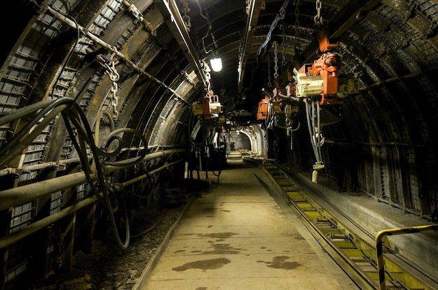 empty mine shaft